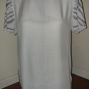 Rebecca Taylor blouse top Size 10 Excellent